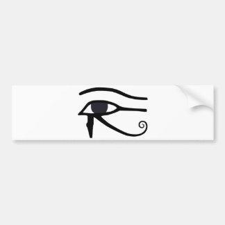 EGYPTIAN EYE OF HORUS CAR BUMPER STICKER