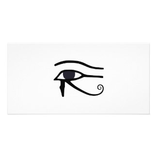 EGYPTIAN EYE OF HORUS PICTURE CARD
