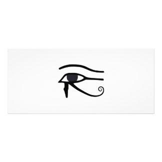 EGYPTIAN EYE OF HORUS RACK CARD