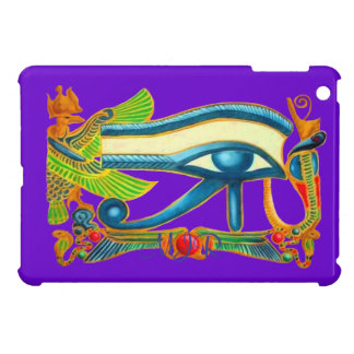Egyptian Eye of Horus talisman with Monogram Case For The iPad Mini