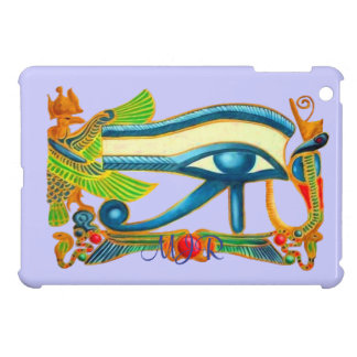 Egyptian Eye of Horus talisman with Monogram Cover For The iPad Mini