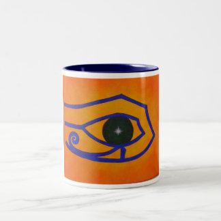 Egyptian Eye Of Ra Coffee Mug