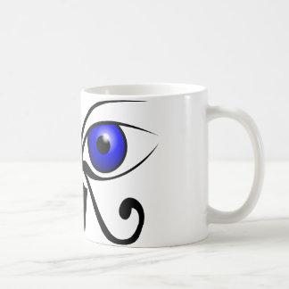 Egyptian eyes coffee mug