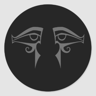 egyptian eyes horus and isis stickers