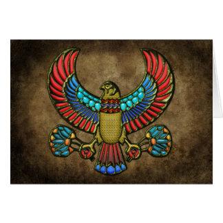 Egyptian Falcon Greeting Card
