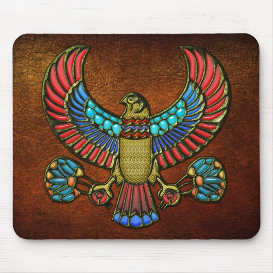 Egyptian Falcon Mouse Pad