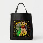 EGYPTIAN FELINE GROCERY BAG