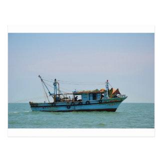 Egyptian Fishing Boat Postcard