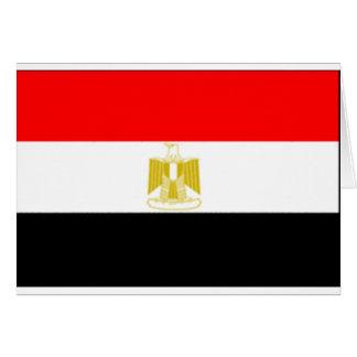 egyptian Flag Card