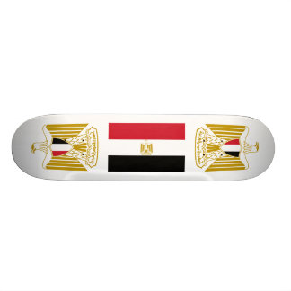 Egyptian Flag Coat of Arms Skateboard Deck