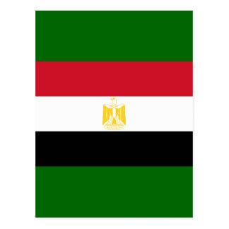 Egyptian Flag Postcard