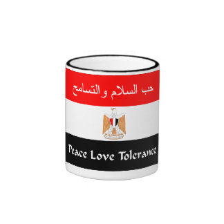 Egyptian Flag Ringer Mug