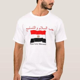 Egyptian Flag waving T-Shirt