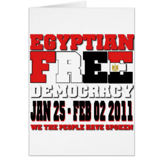 Egyptian Free Democracy Card