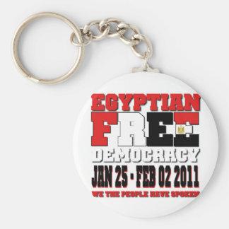 Egyptian Free Democracy Keychain