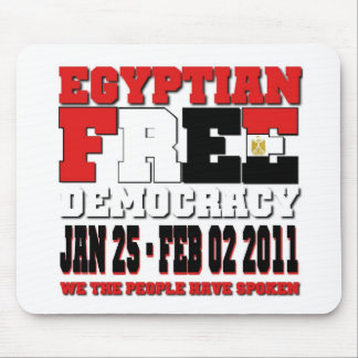 Egyptian Free Democracy Mouse Pad
