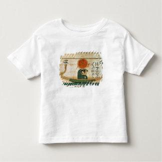 Egyptian funerary papyrus toddler t-shirt
