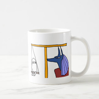 Egyptian God MEDJED and Anubis book of the dead Coffee Mug