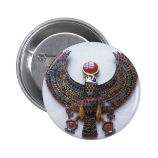 Egyptian God Monthu 2 Inch Round Button