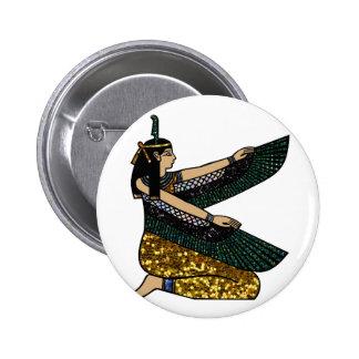 egyptian goddess button