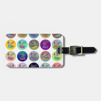 Egyptian Goddess Isis Collage Tags For Luggage