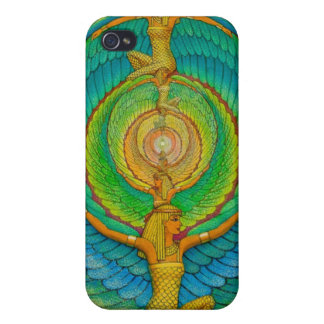 Egyptian Goddess Isis Fantasy Art iPhone 4 Case