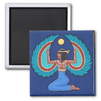 Egyptian Goddess Isis magnet by Soozie Wray