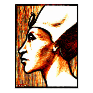 ~Egyptian Gods~ Akhnaton Postcard