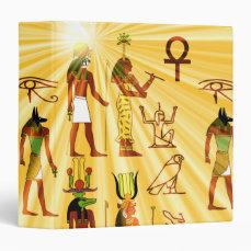 Egyptian Gods And Goddesses Binder