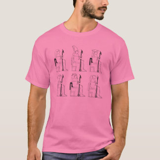 Egyptian Gods in Class T-Shirt