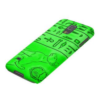 Egyptian Green Emerald Pharoah Airbrush Art Galaxy S5 Case