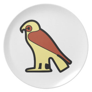 Egyptian Hieroglyphic A Plate