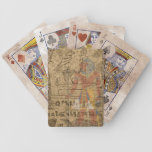Egyptian Hieroglyphic Bicycle Poker Cards