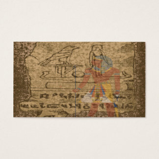 Egyptian Hieroglyphic Business Card