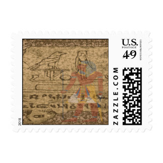Egyptian Hieroglyphic Postage