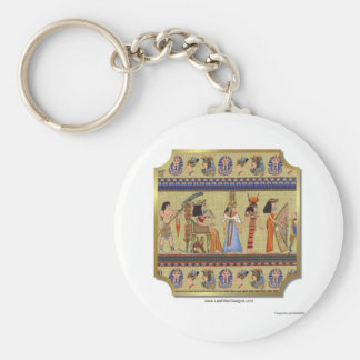 Egyptian Hieroglyphics Apparel, Gifts Collectibles Keychain