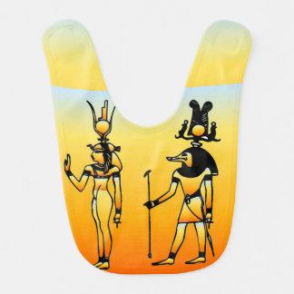 Egyptian Hieroglyphics Baby Bib