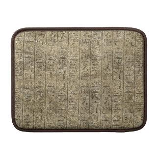 Egyptian Hieroglyphics MacBook Sleeve