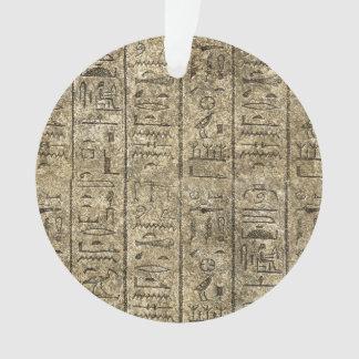 Egyptian Hieroglyphics Ornament
