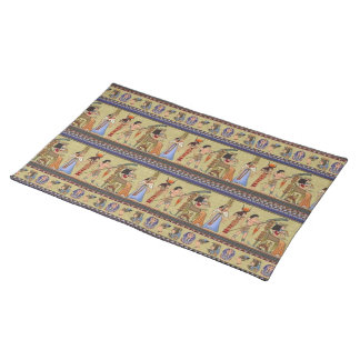 Egyptian Hieroglyphics  Placemat Cloth Place Mat
