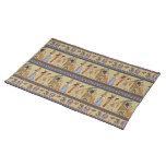 Egyptian Hieroglyphics  Placemat Cloth Placemat