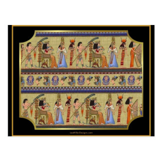 Egyptian Hieroglyphics Series II Apparel Gifts Postcard