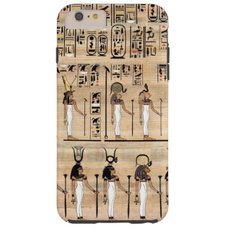 Egyptian Hieroglyphs On Papyrus Tough iPhone 6 Plus Case