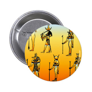 Egyptian Hieroglyphs Pinback Button