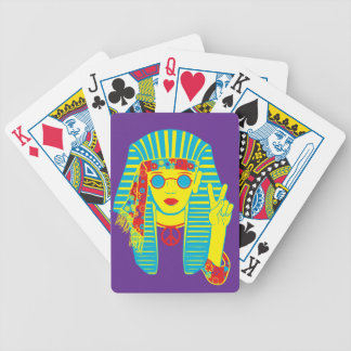 Egyptian Hippie Bicycle Playing Cards