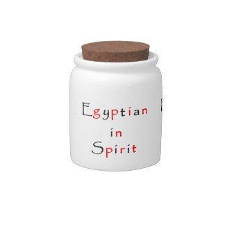 Egyptian in Spirit-candy jar Candy Jars