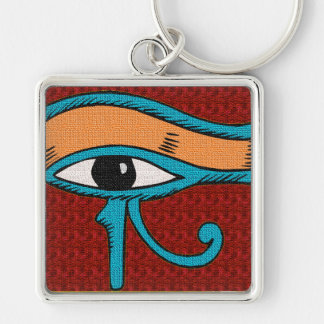 egyptian influence  designed tie keychain