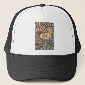 egyptian king on pyprus.png trucker hat