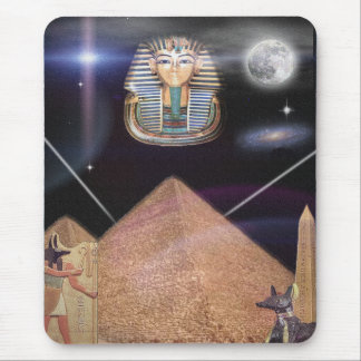 Egyptian King tut mousepad