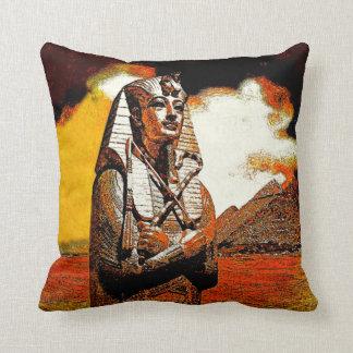 egyptian king tut Pillow 2